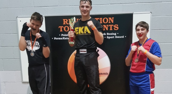 Team EKA at Revolution High Peak Championships September 2019