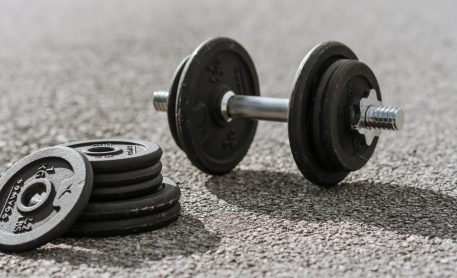 At Home Dumbbell Workout